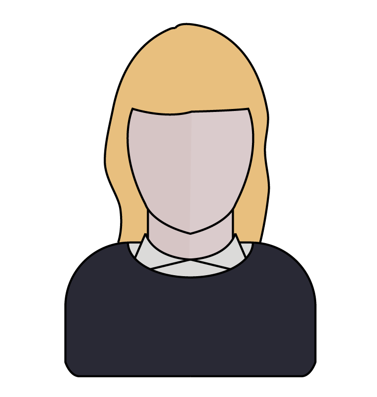 Iona inglesby projects. Neck clipart oval face