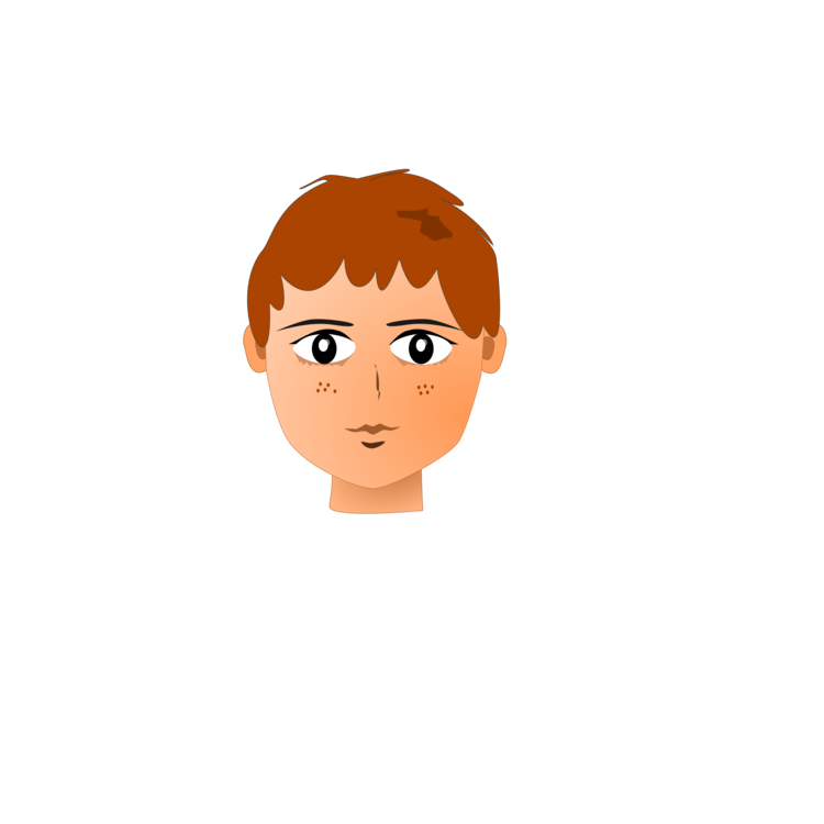 Transparent png free download. Neck clipart teenager face