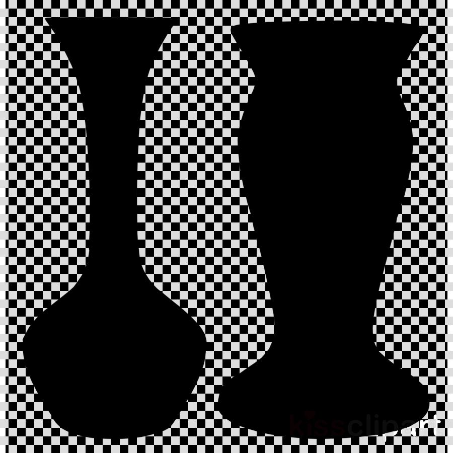 Vase silhouette . Neck clipart transparent