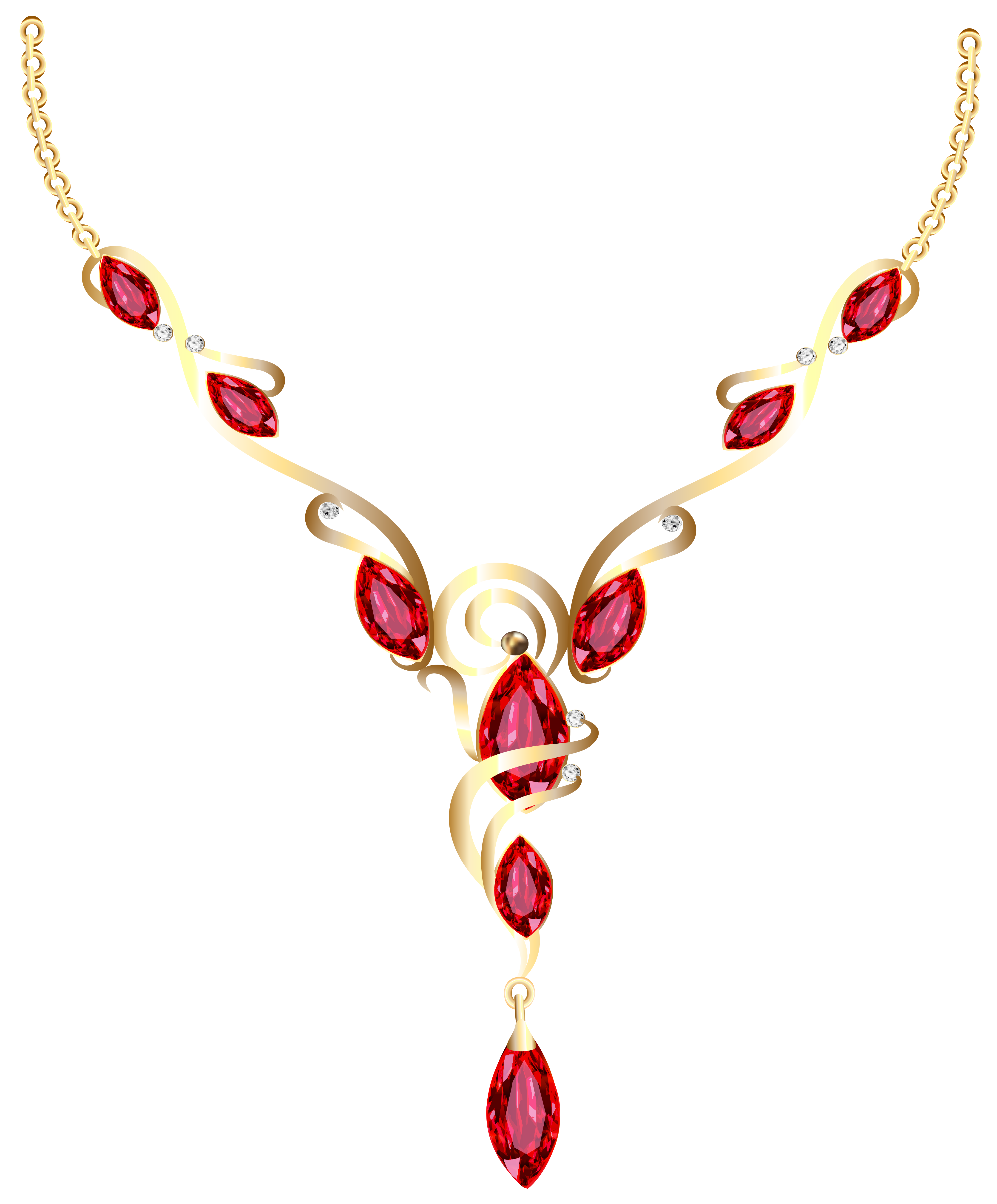 Gold diamond png gallery. Necklace clipart