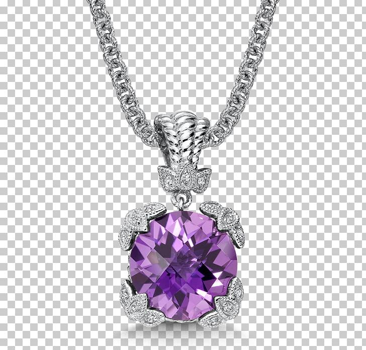 Jewellery gemstone gold png. Necklace clipart amethyst