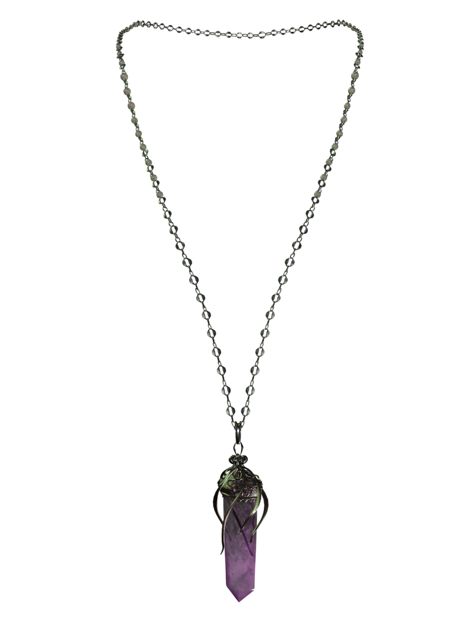Png images free download. Necklace clipart amethyst
