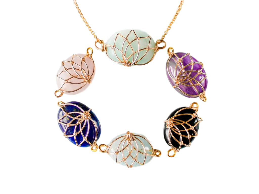 Necklace clipart amethyst. Necklaces yun boutique serene