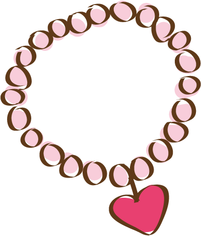 necklace clipart cartoon