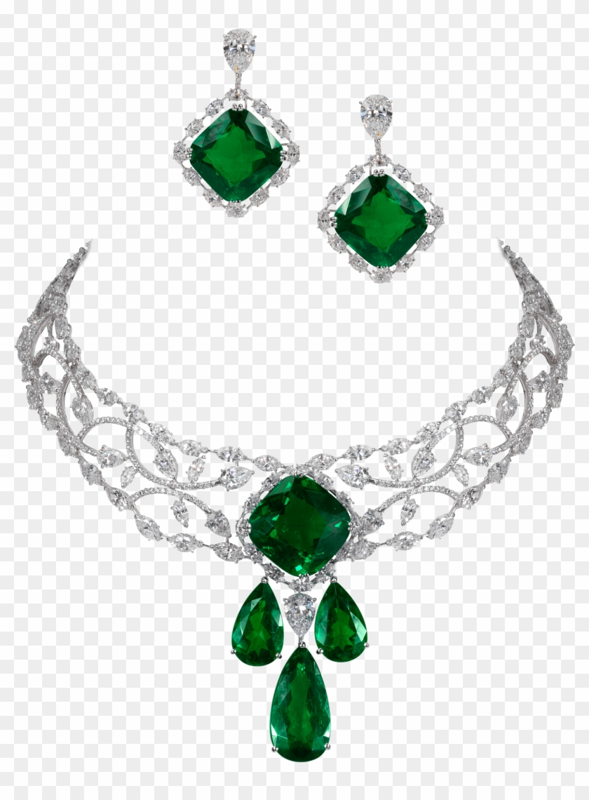 Hd png download . Necklace clipart emerald