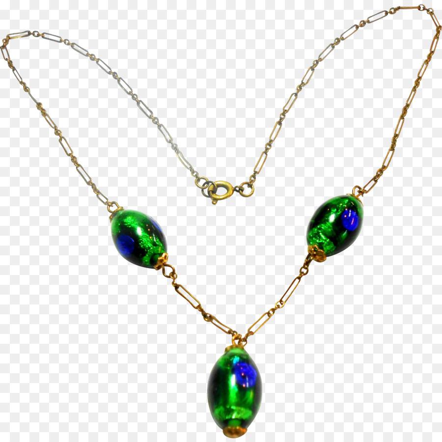 Jewellery . Necklace clipart emerald