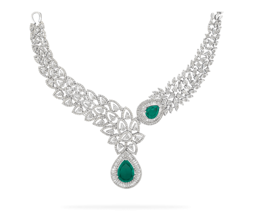 necklace clipart emerald