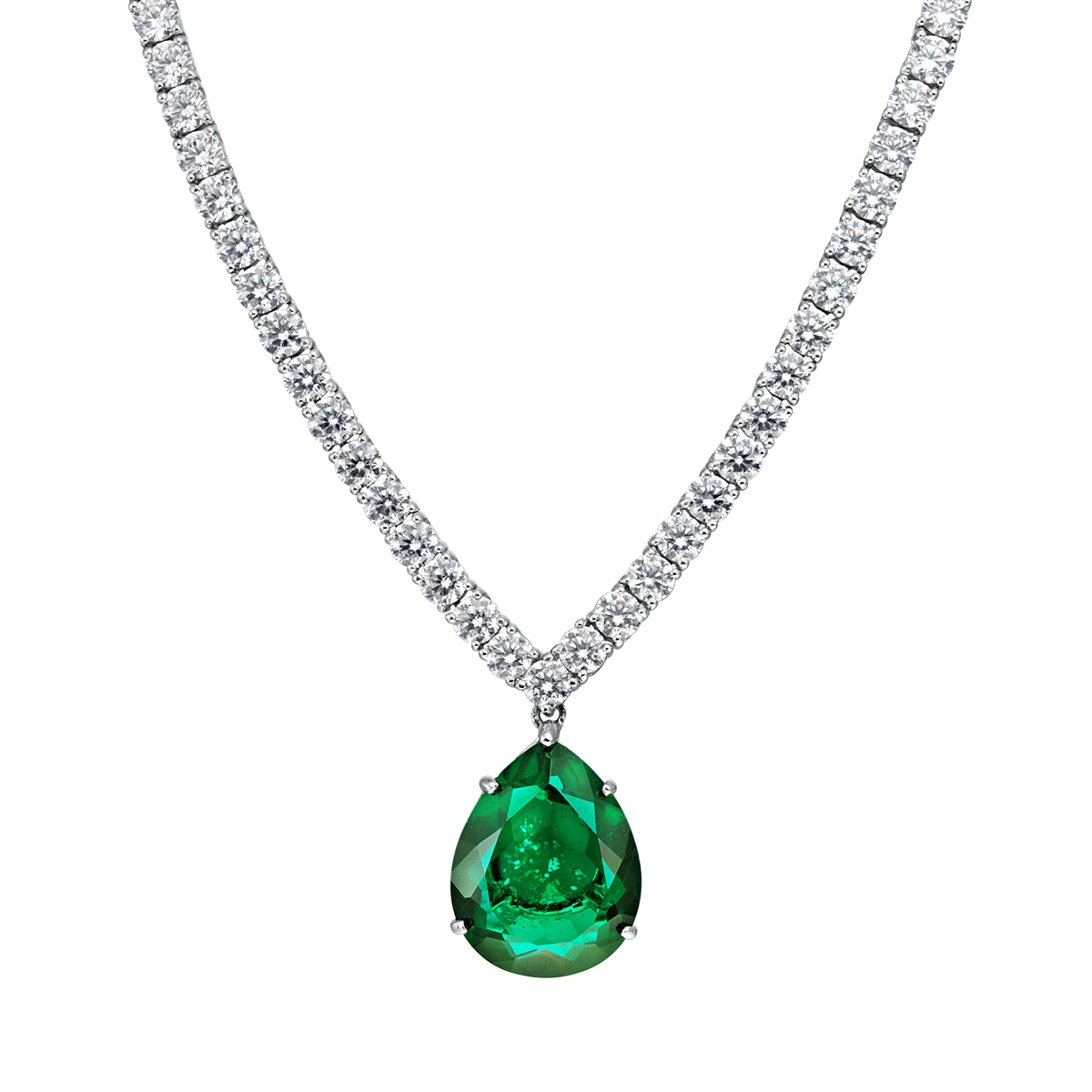 Necklace clipart emerald. Png images free download