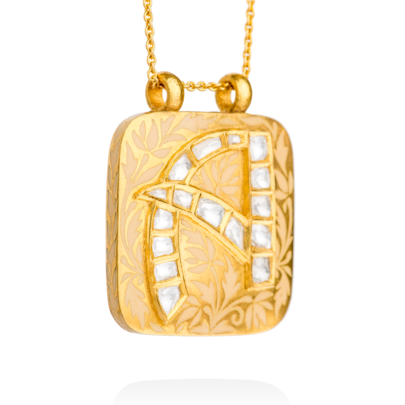 Necklace clipart gold traditional. Gilded journey roya initial