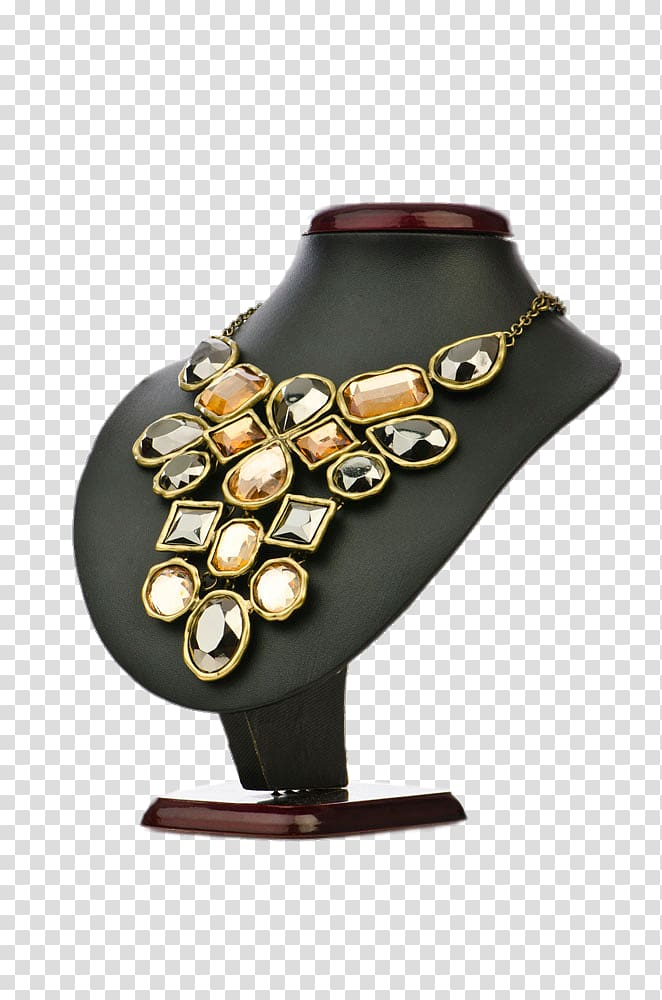 Necklace clipart jewelry display. Jewellery ring creative model