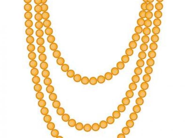 Necklace clipart mala. Free download clip art