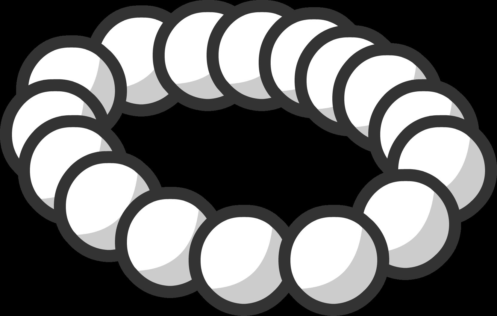 Necklace clipart pearl necklace. Club penguin wiki fandom