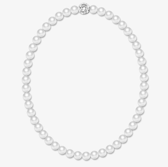 Pearls clipart neclace. Pearl necklace png frame