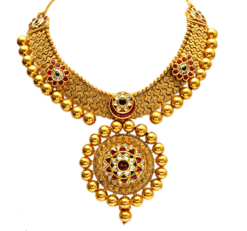 Necklace clipart round gold. Png free images toppng