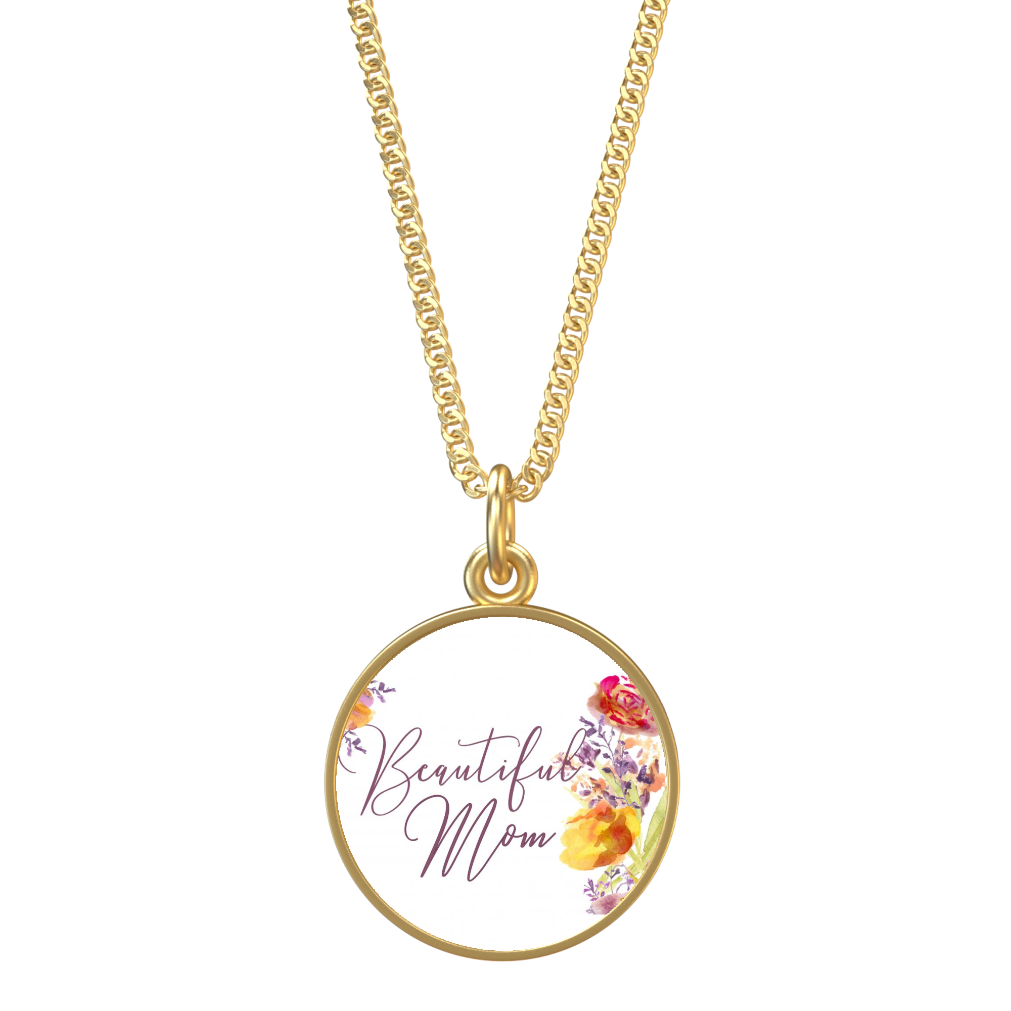 Necklace clipart round gold. Beautiful mom dahlilah dreams