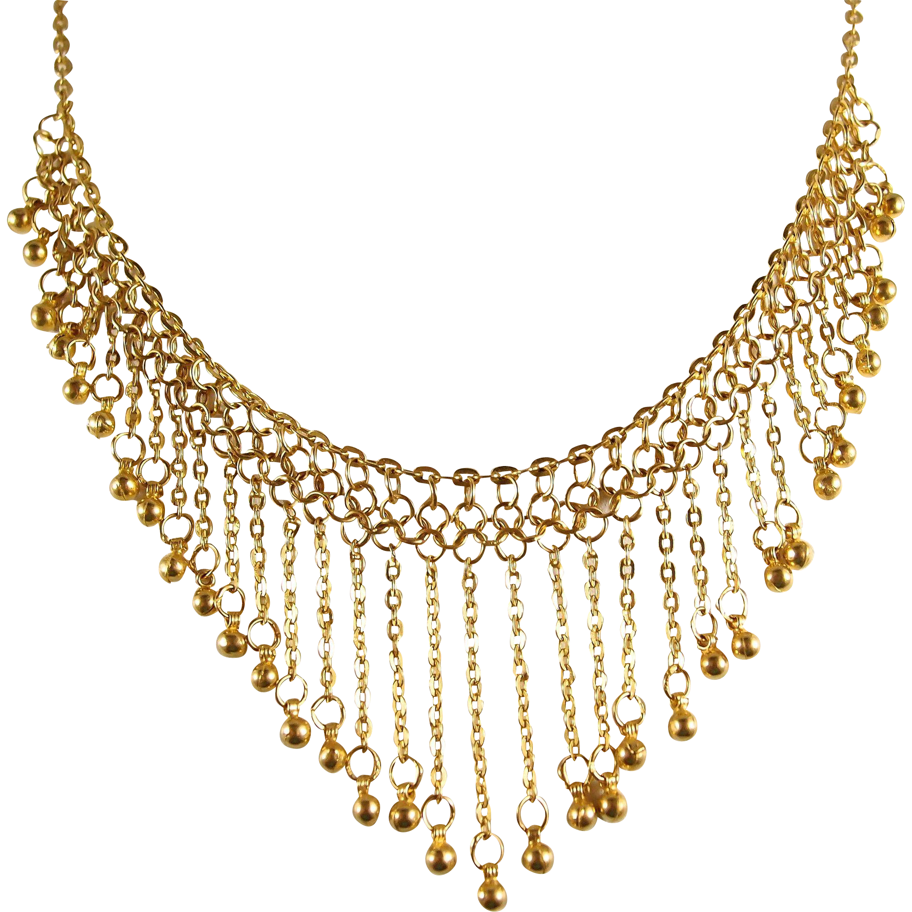 Necklace clipart tier. Gold bib nobby design