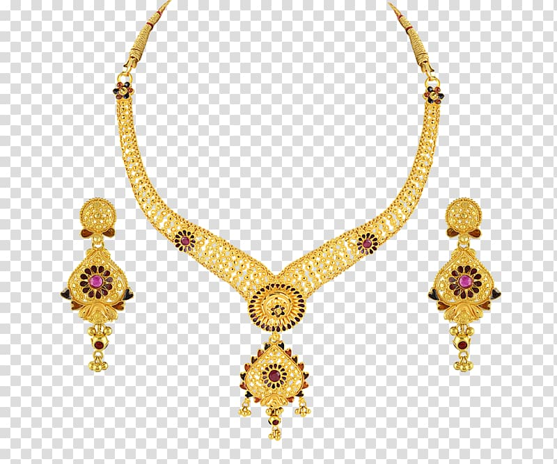 Necklace clipart wedding necklace. Earring gold jewellery pearl