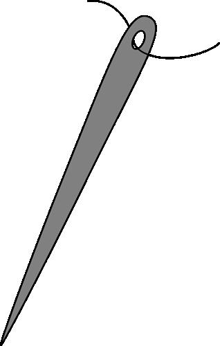 Needle clipart. Clip art image