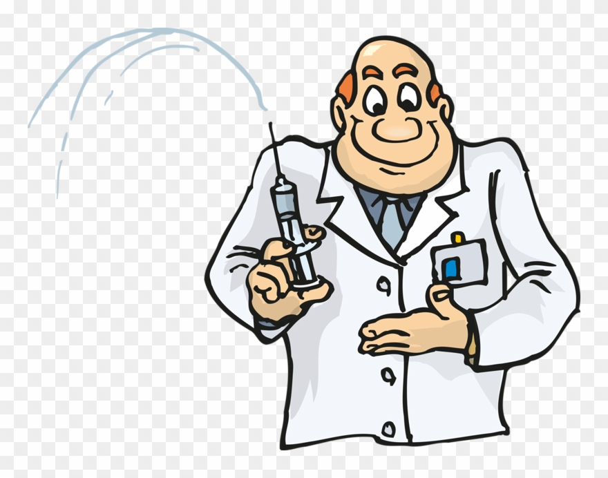 Needle clipart doctor thing. Injection physician hypodermic with