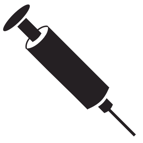 collection of png. Needle clipart injection bottle