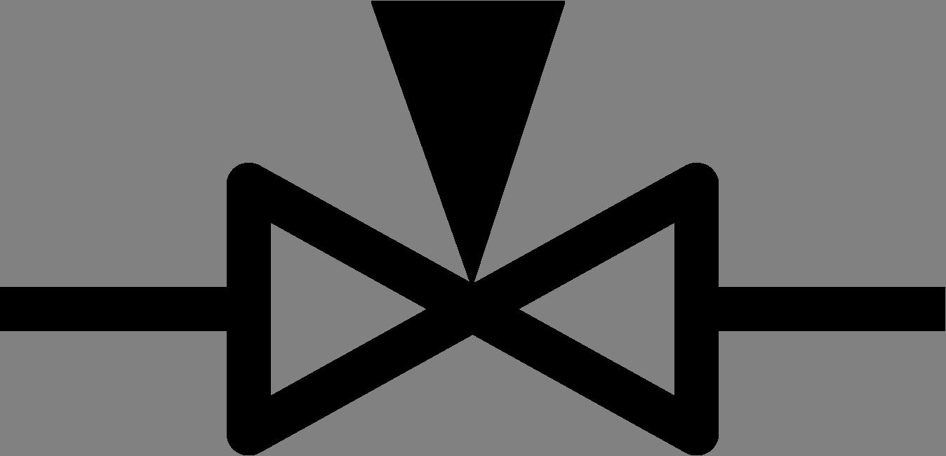 Valve symbols flow control. Needle clipart niddle