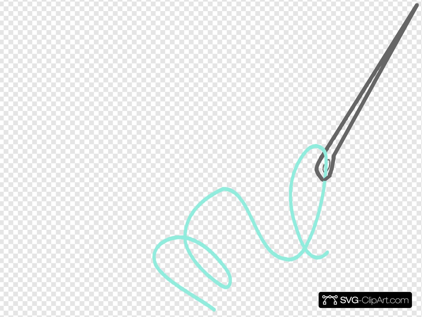 Needle clipart svg. Clip art icon and