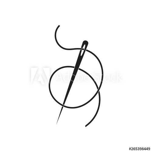 Sewing needle clip art   Clip art, Needle and thread, Cross stitch patterns  free