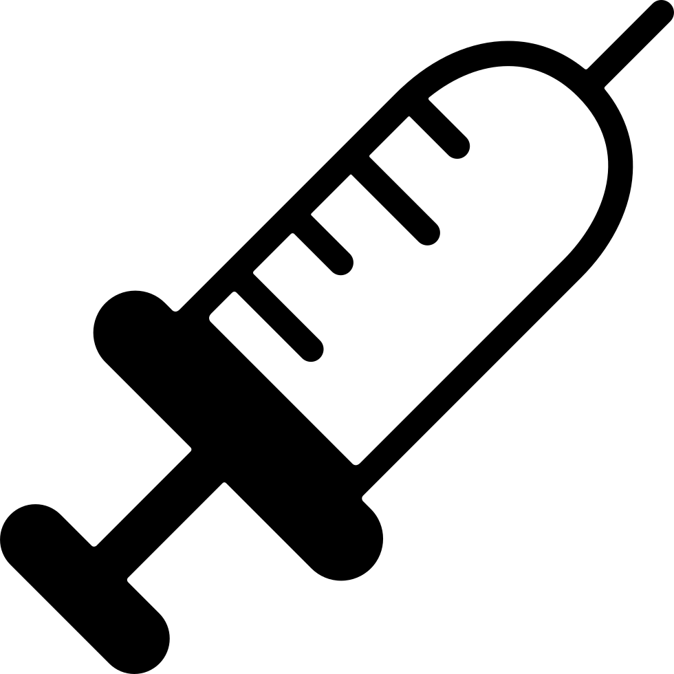 Needle clipart utensil. Injection svg png icon