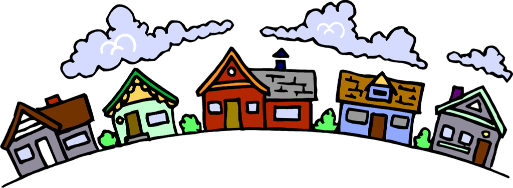 Neighbors clipart neighboorhood. Free neighborhood cliparts download