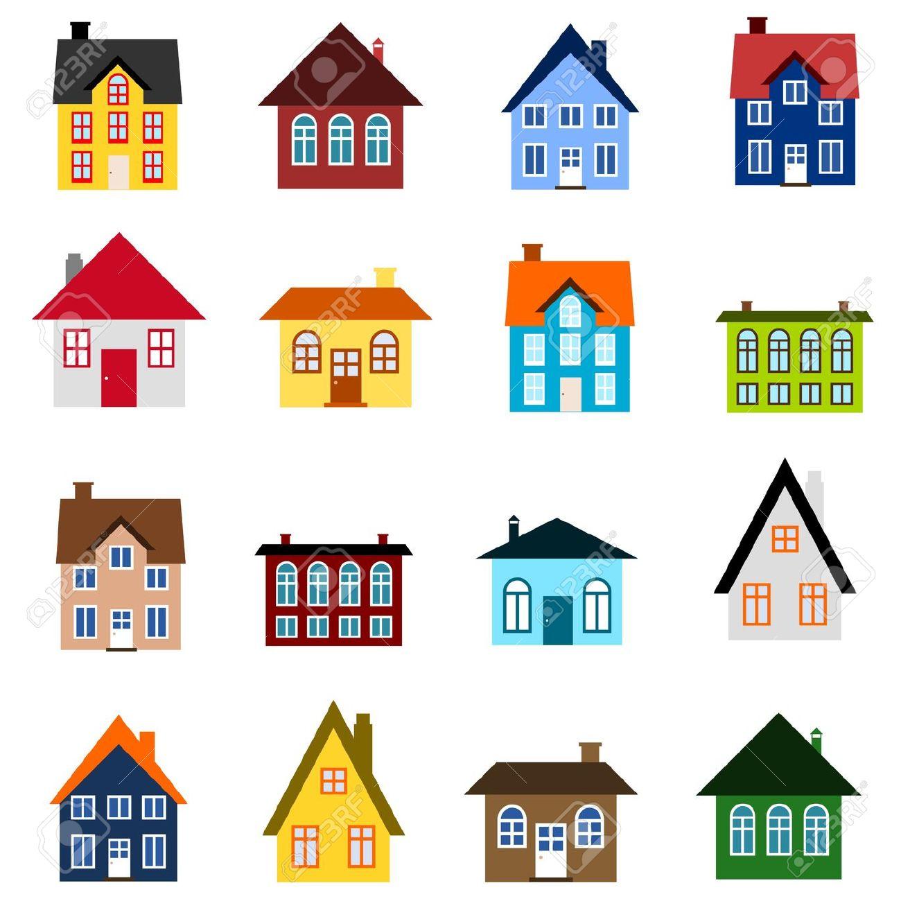 Cliparts zone . Neighborhood clipart 4 house