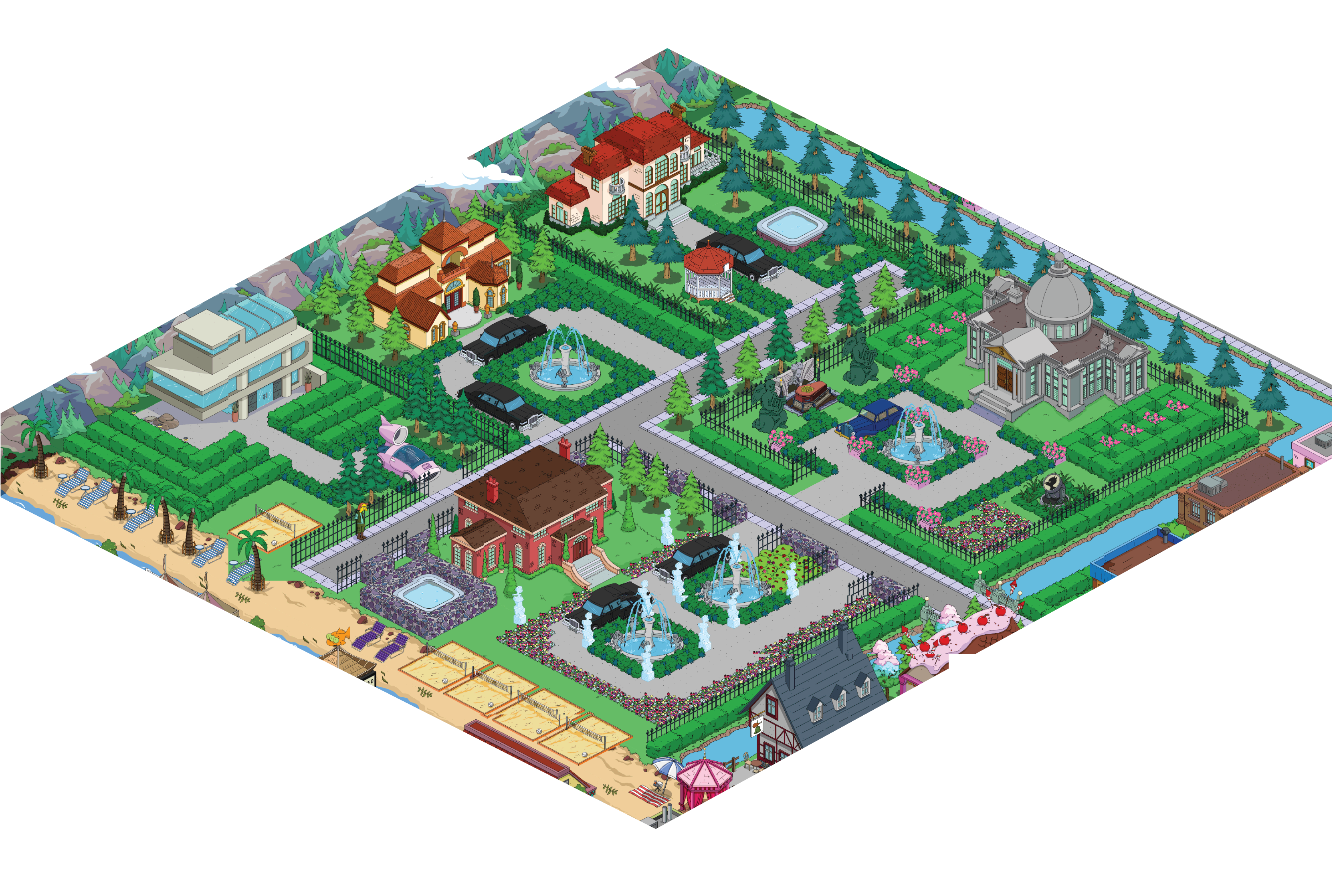 What have you done. Neighborhood clipart city layout