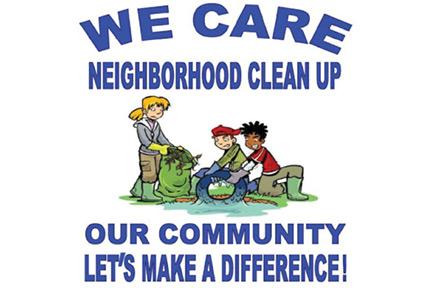 Antioch set for cleanup. Neighborhood clipart clean neighborhood