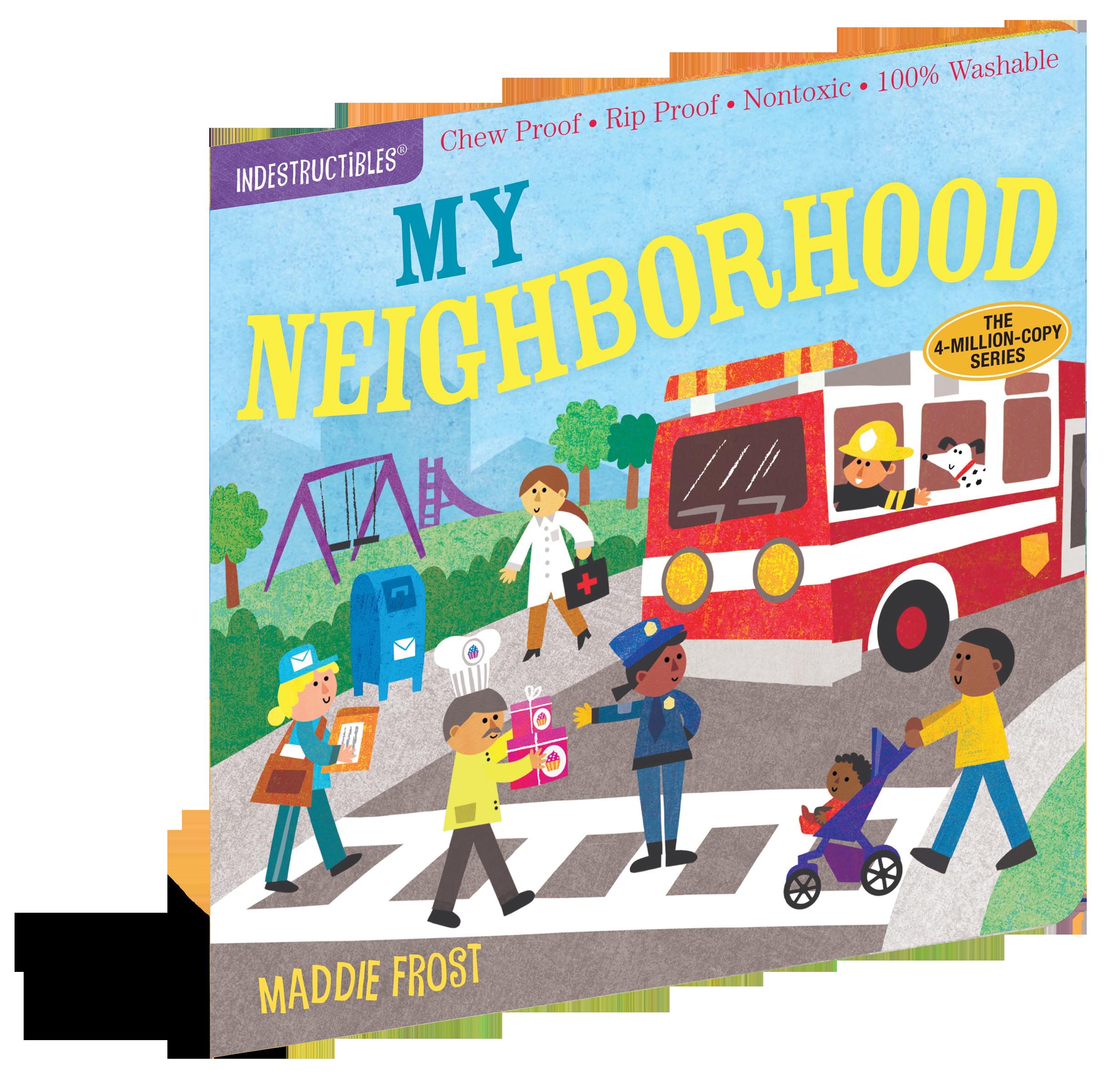 Indestructibles my workman publishing. Neighborhood clipart clean neighborhood