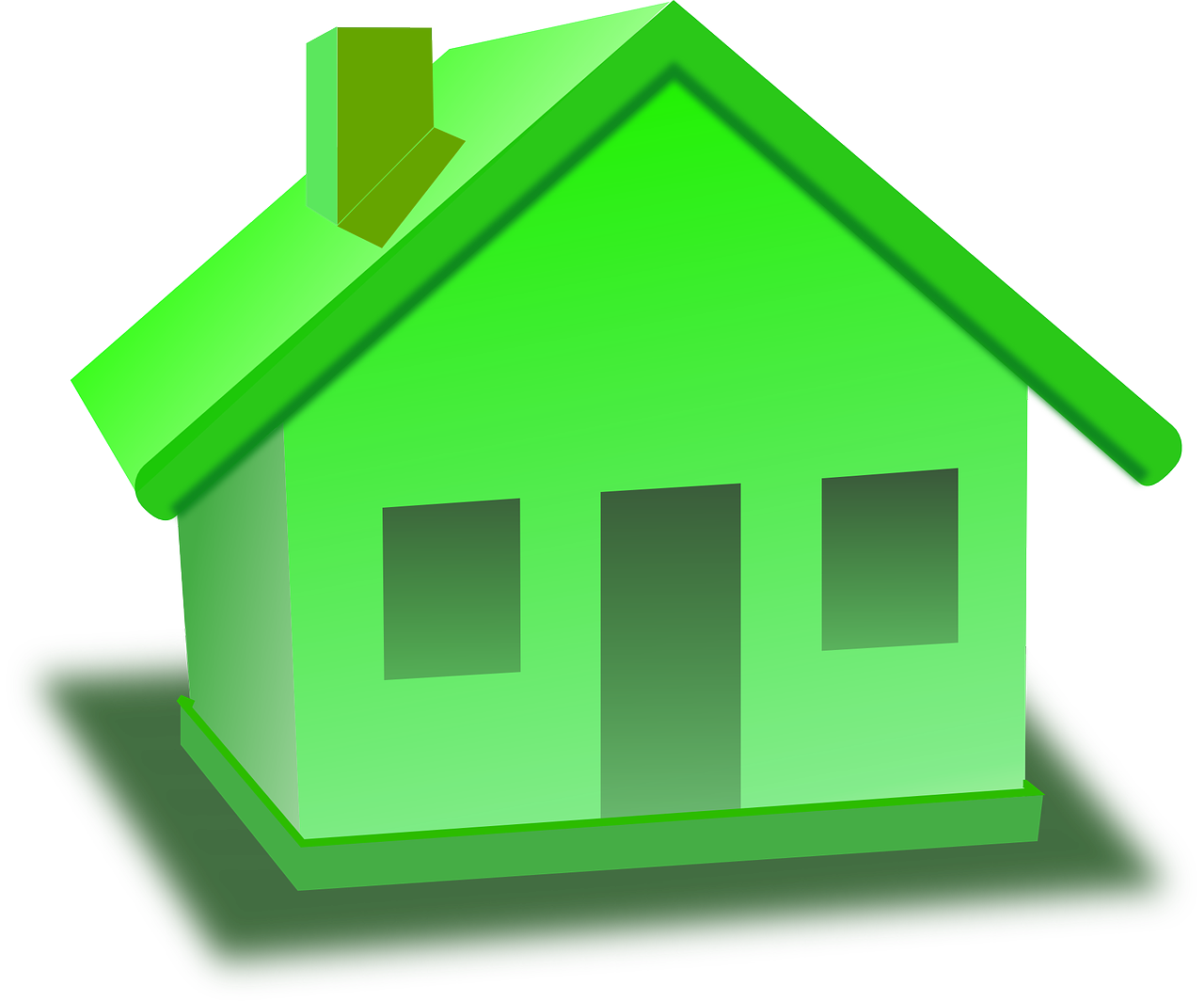 Sold our home on. Neighborhood clipart colored house