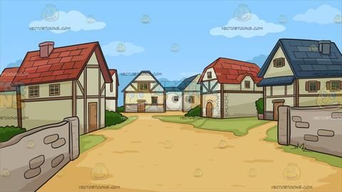Royalty free images tagged. Neighborhood clipart country town