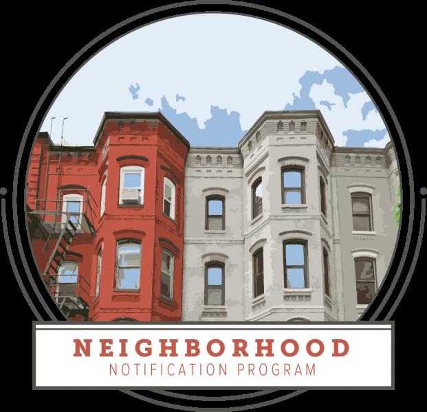 Notification program dcra proactiveinspectionprogramcomingsoonpng. Neighborhood clipart french building
