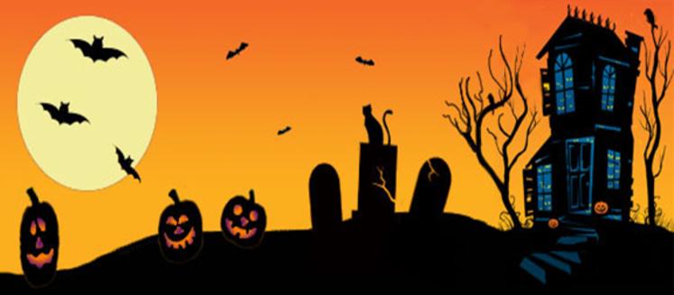 . Neighborhood clipart halloween