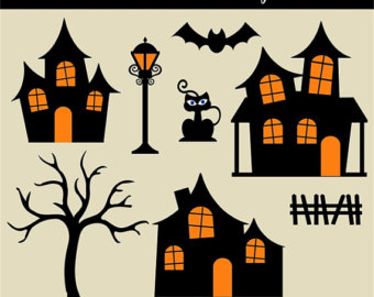 Neighborhood clipart halloween.