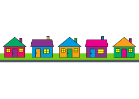 Free neighborhood cliparts download. Neighbors clipart subdivision