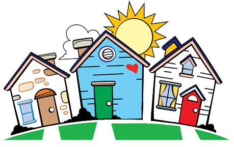 Just moved in tips. Neighbors clipart household