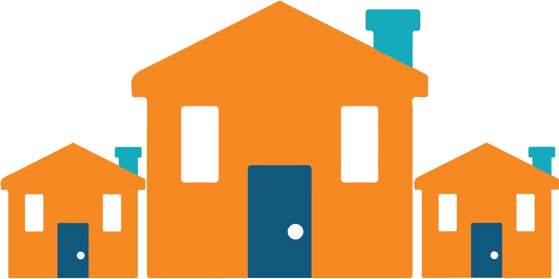 Neighborhood clipart housing area. City of indio development