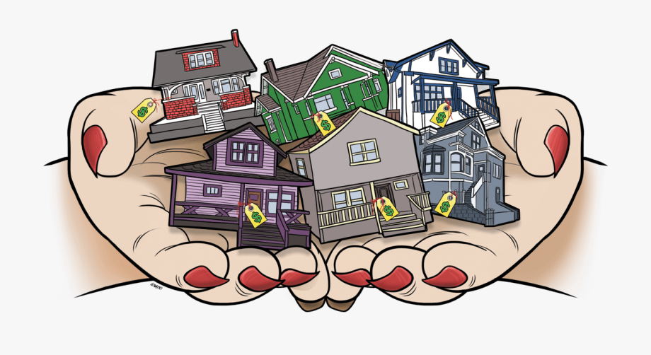 Neighborhood clipart housing area. House cliparts