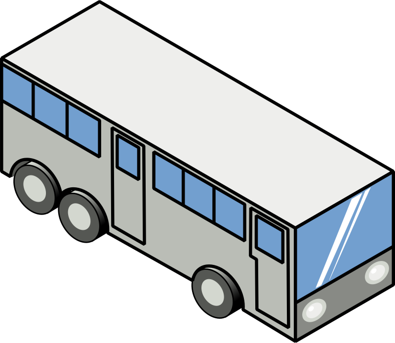 Neighborhood clipart isometric. Public transportation toledo lucas