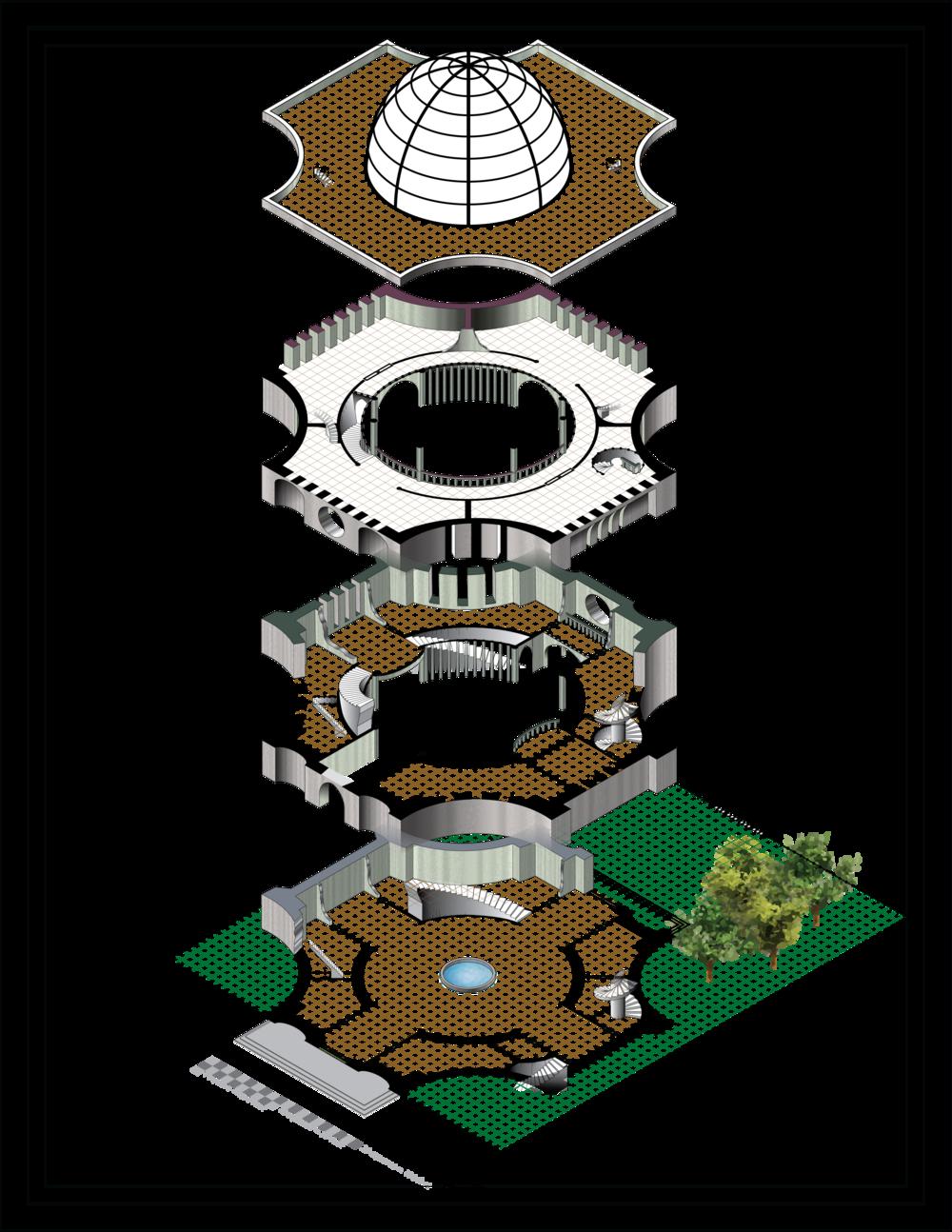 Vector map shrine to. Neighborhood clipart isometric