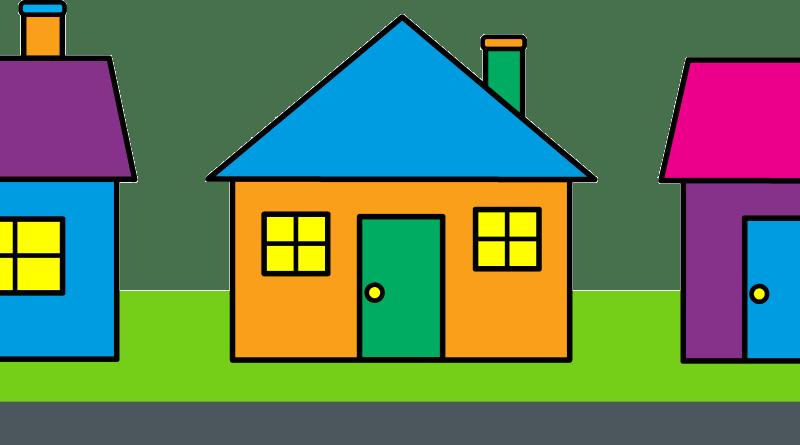bah rates san. Neighborhood clipart many house