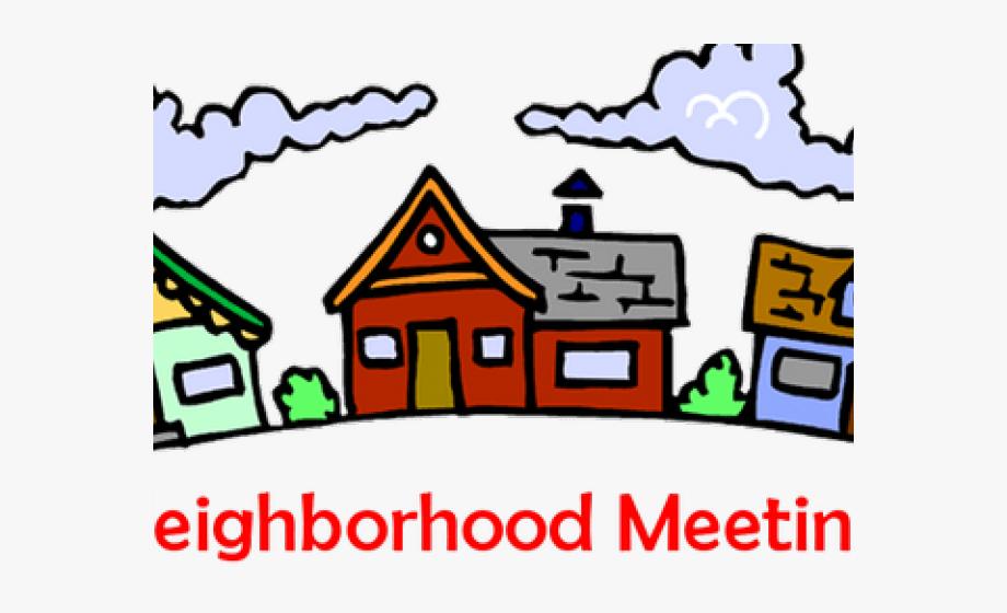 Neighborhood clipart neighborhood meeting. Hoa cliparts