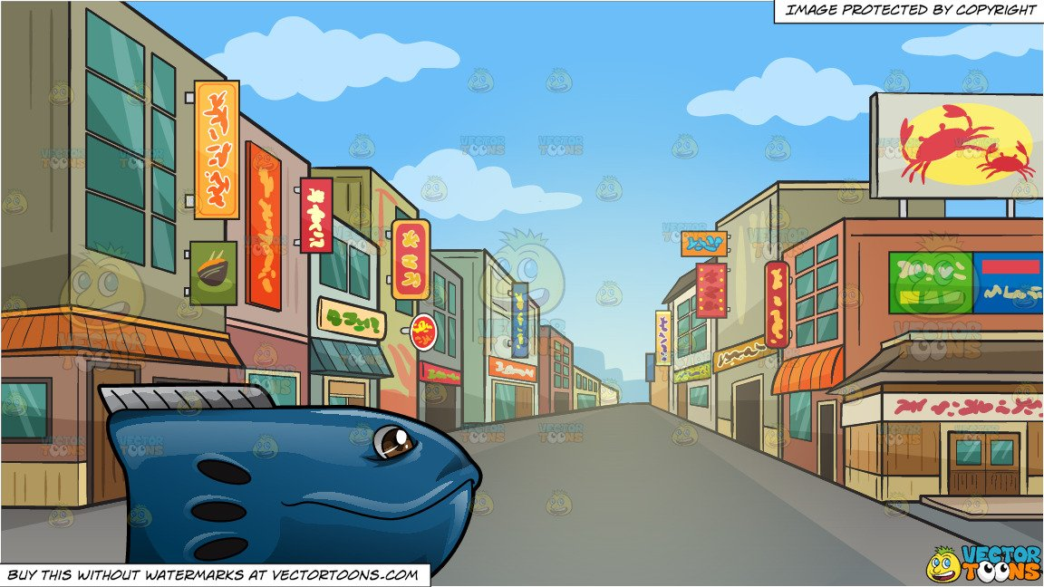 Neighborhood clipart neighborhood street. Eccentric toy fish and