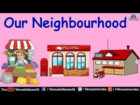 Neighborhood clipart neighbourhood place. World of knowledge our