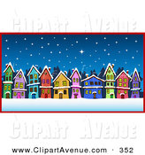 Royalty free stock designs. Neighborhood clipart night clipart