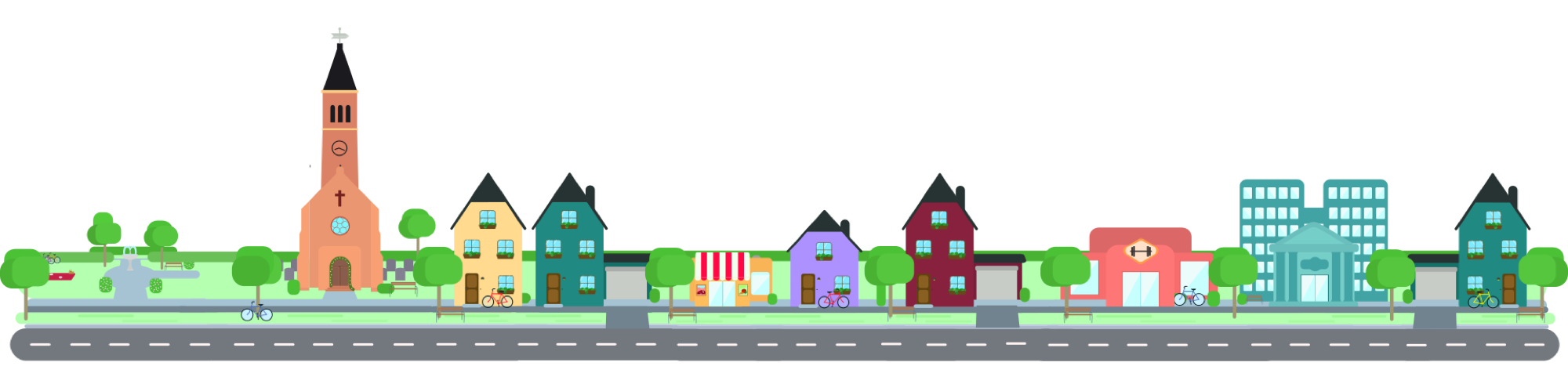 Neighborhood clipart residential community. Hommr claim your address